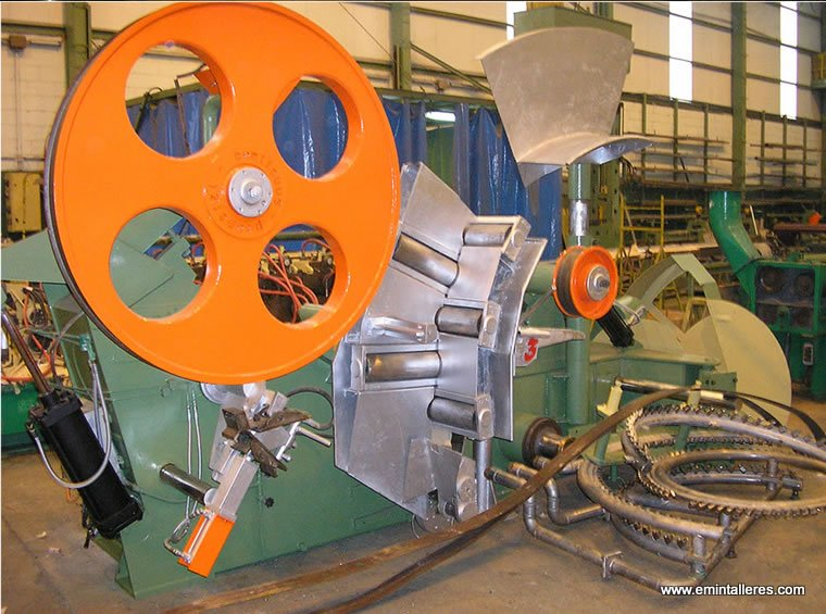Emin taller de construcción y reparación de maquinaria industrial Polígono Aviés