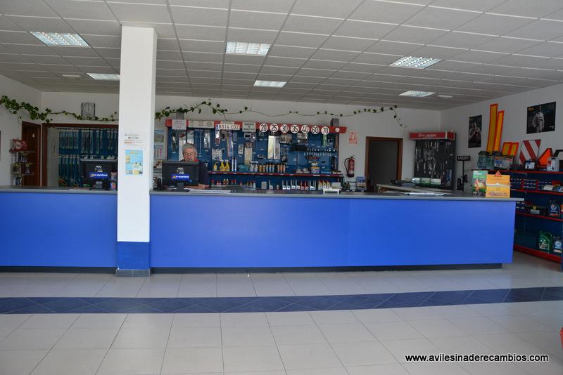 Tienda de recambios y accesorios de vehiculos Avilesina de Recambios