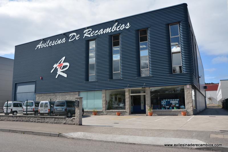 Avilesina de Recambios poligono del PEPA tienda de recambios de automoviles