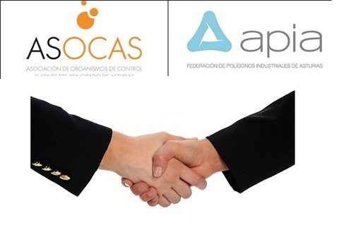 Federación de Polígonos Industriales de Asturias - APIA Y ASOCAS FIRMAN UN CONVENIO DE COLABORACIÓN - Federación de Polígonos Industriales de Asturias