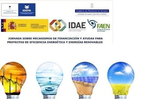 Federación de Polígonos Industriales de Asturias - JORNADA DE AYUDAS PARA EFICIENCIA ENERGÉTICA Y ENERGÍAS RENOVABLES - Federación de Polígonos Industriales de Asturias