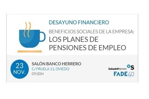 Federación de Polígonos Industriales de Asturias - BENEFICIOS SOCIALES DE LA EMPRESA: LOS PLANES DE PENSIONES DE EMPLEO - Federación de Polígonos Industriales de Asturias