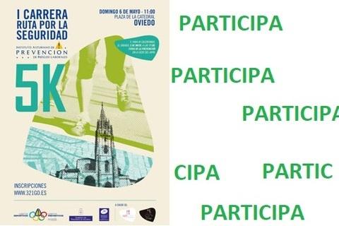 Federación de Polígonos Industriales de Asturias - I CARRERA RUTA POR LA SEGURIDAD - Federación de Polígonos Industriales de Asturias