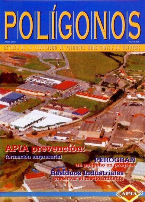 Federación de Polígonos Industriales de Asturias - REVISTA POLIGONOS Nº 1 - Federación de Polígonos Industriales de Asturias