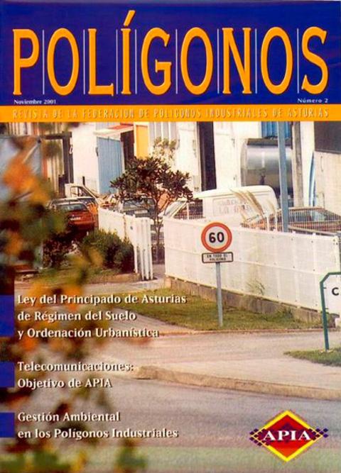 Federación de Polígonos Industriales de Asturias - REVISTA POLIGONOS Nº 2 - Federación de Polígonos Industriales de Asturias