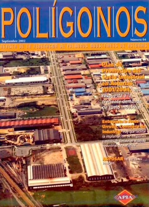 Federación de Polígonos Industriales de Asturias - REVISTA POLIGONOS Nº 4 - Federación de Polígonos Industriales de Asturias