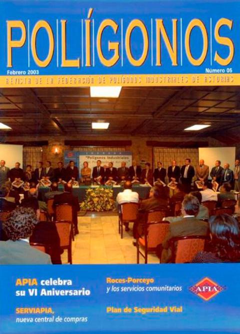 Federación de Polígonos Industriales de Asturias - REVISTA POLIGONOS Nº 5 - Federación de Polígonos Industriales de Asturias