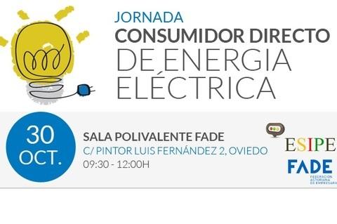 """Federación de Polígonos Industriales de Asturias - JORNADA """"CONSUMIDOR DIRECTO DE ENERGÍA ELÉCTRICA""""  - Federación de Polígonos Industriales de Asturias"""