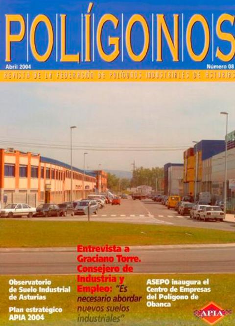 Federación de Polígonos Industriales de Asturias - REVISTA POLIGONOS Nº 8 - Federación de Polígonos Industriales de Asturias