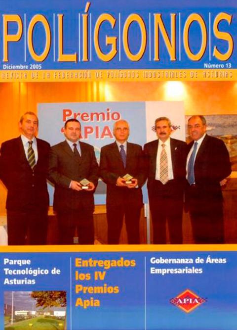 Federación de Polígonos Industriales de Asturias - REVISTA POLIGONOS Nº 13 - Federación de Polígonos Industriales de Asturias