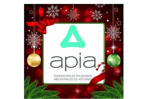 Federación de Polígonos Industriales de Asturias - APIA TE DESEA FELIZ NAVIDAD - Federación de Polígonos Industriales de Asturias