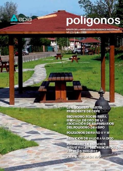 Federación de Polígonos Industriales de Asturias - REVISTA POLIGONOS Nº 23 - Federación de Polígonos Industriales de Asturias