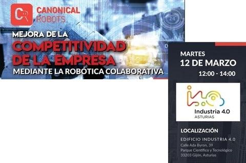 Federación de Polígonos Industriales de Asturias - ROBOTS COLABORATIVOS - Federación de Polígonos Industriales de Asturias