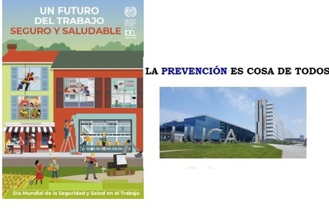 Federación de Polígonos Industriales de Asturias - DÍA MUNDIAL DE LA SEGURIDAD Y LA SALUD EN EL TRABAJO - Federación de Polígonos Industriales de Asturias