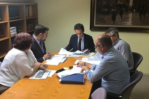 Federación de Polígonos Industriales de Asturias - REUNIÓN DEL POLÍGONO ESPÍRITU SANTO CON EL AYUNTAMIENTO DE OVIEDO - Federación de Polígonos Industriales de Asturias