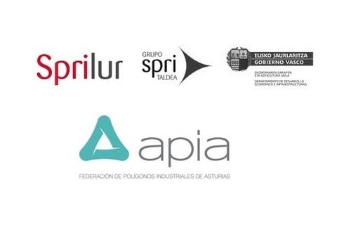 Federación de Polígonos Industriales de Asturias - APIA SE REÚNE EN ASTURIAS CON SPRILUR y SPRI - Federación de Polígonos Industriales de Asturias