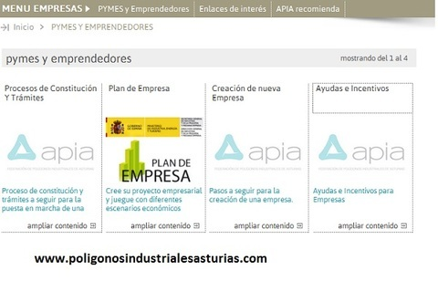 Federaci�n de Pol�gonos Industriales de Asturias - ACCESO A INFORMACI�N SOBRE AYUDAS EUROPEAS - Federaci�n de Pol�gonos Industriales de Asturias