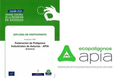 Federación de Polígonos Industriales de Asturias - CANDIDATOS AL PREMIO DE LA SEMANA EUROPEA DE PREVENCIÓN DE RESIDUOS - Federación de Polígonos Industriales de Asturias