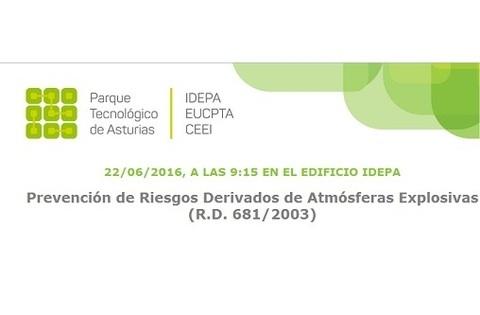 Federación de Polígonos Industriales de Asturias - PREVENCIÓN DE RIESGOS DERIVADOS DE ATMÓSFERAS EXPLOSIVAS - Federación de Polígonos Industriales de Asturias