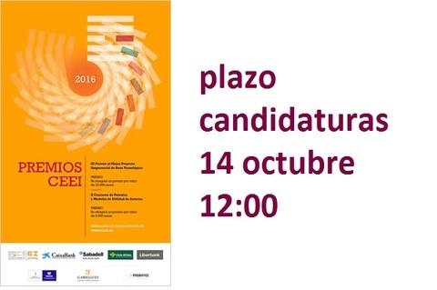 Federación de Polígonos Industriales de Asturias - PREMIOS  CEEI 2016 - Federación de Polígonos Industriales de Asturias